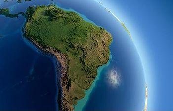Mapa de América Latina. (Foto de archivo)