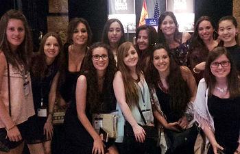 Alumnas de Toledo y Ciudad Real asistentes a la conferencia.