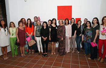 Novillo inaugura la I Muestra Mujer y Arte1. Foto: JCCM.