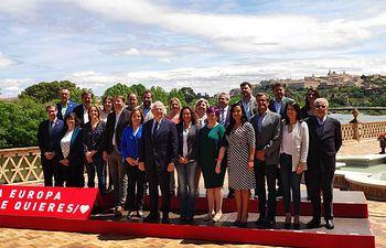 Candidatura europea PSOE.