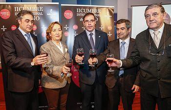 Soriano presenta Cumbre Internacional del Vino en Cuenca (1). Foto: JCCM.