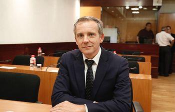 José Antonio Contreras, portavoz de Sanidad del grupo parlamentario socialista.