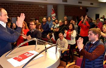 Foto presentación candidatura Emilio Sáez 'Un PSOE Contigo'