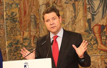 Rueda de prensa balance del primer año de Gobierno. Foto: JCCM.