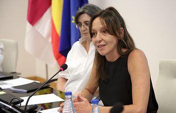 Inmaculada Herranz,  consejera para la Coordonación del Plan de Garantías Ciudadanas