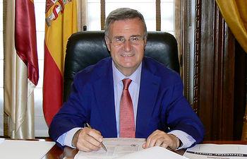 Arturo García-Tizón, presidente de la Diputación de Toledo