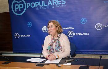 Silvia Valmaña, diputada nacional por Guadalajara y vicesecretaria de Acción Política del PP de Castilla-La Mancha. Foto: PP CLM.