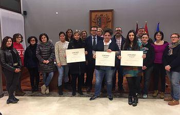 Entrega premios I Concurso Escaparates Navidad- Campo de Criptana.