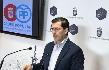 Miguel Ángel Poveda concejal del Grupo Municipal Popular.