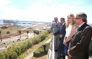 Visita al Puerto de Sines (Portugal). Foto: JCCM.