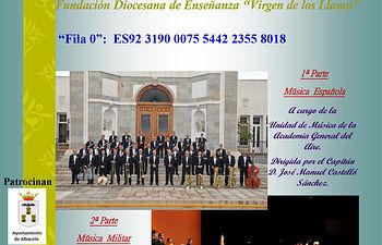 Cartel definitivo II CONCIERTO DÍA DE LA FIESTA NACIONAL