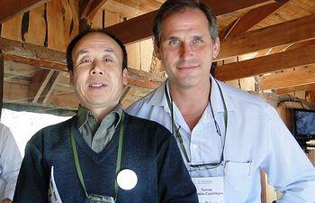 Doctores Tomás Landete y Chunyi Li