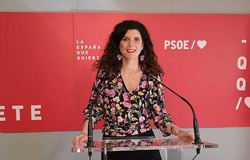 Josefina Navarrete, vicesecretaria general del PSOE en la provincia de Albacete.