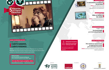 Invitación 2ª sesión cine Albacete.