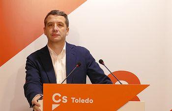 Esteban Paños, portavoz municipal de Ciudadanos.