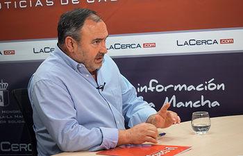 Carlos Pedrosa, secretario general de UGT Castilla-La Mancha.