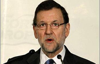 Mariano Rajoy en el Forum Europa. Foto: EFE.