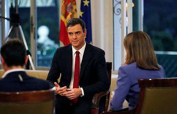 Pedro Sánchez - Entrevista TVE - 18-06-18. Imagen TVE.