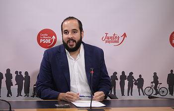 Miguel González, diputado del Grupo Parlamentario Socialista.