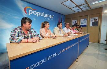 Francisco Núñez preside la Junta Directiva Provincial del PP de Albacete
