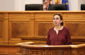 Úrsula López, diputada del Grupo Parlamentario Ciudadanos en las Cortes de Castilla-La Mancha.
