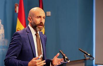 David Muñoz Zapata, diputado regional de Cs en las Cortes de Castilla-La Mancha.