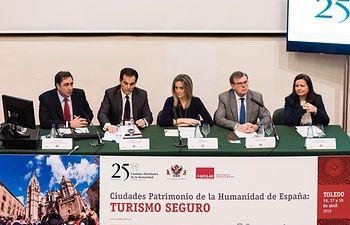 Inauguración Jornadas Turismo Seguro.