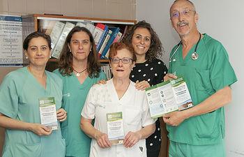 Servicio de Anestesiología del Hospital de Guadalajara.