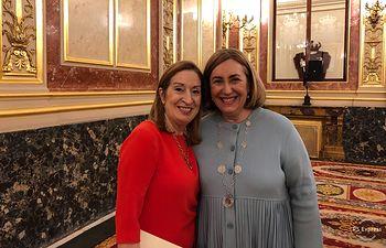 Ana Pastor con Silvia Valmaña