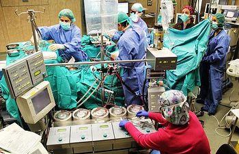 Servicio de Cirugía Cardiaca del Hospital de Toledo. Foto: JCCM.