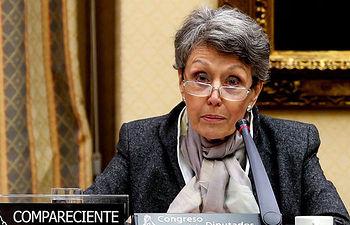 Rosa María Mateo, periodista.