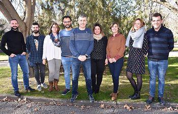 Junta de Gobierno del Colegio de Trabajo Social de Castilla La Mancha.