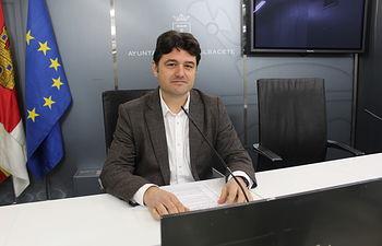 Francisco Navarro, concejal de Movilidad Urbana de Albacete.