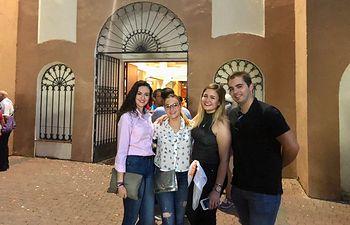 NNGG CLM participa en los festejos taurinos de la Feria y Fiestas de San Julián en Cuenca.