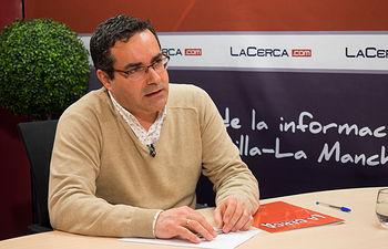 José Juan Fernández, presidente de la Red Castellano-manchega de Desarrollo Rural (RECAMDER).