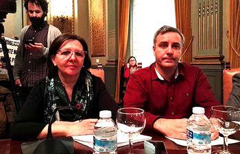 Victoria Delicado y José Ignacio Díaz.