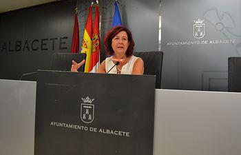 Marisa Sánchez, viceportavoz del Grupo Municipal Socialista.