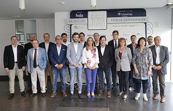 Foto de familia Premiados San Juan 2018.
