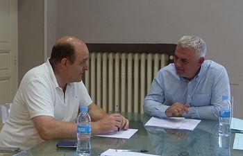 José Luis Vega y Braulio Carlés.