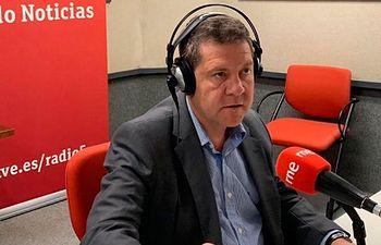 Emiliano García-Page en RNE.