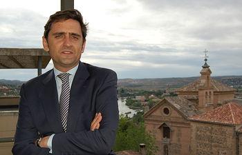 Tirso Yuste, director general de Agricultura. Foto: I Cumbre Internacional del Vino.