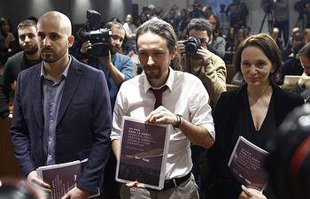 Pablo Iglesias presenta su nueva propuesta de gobierno / EUROPA PRESS