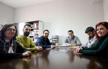 Reunión Unidas Podemos-UGT.