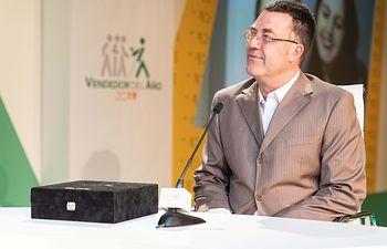 Lorenzo Calado España, elegido mejor vendedor de la ONCE 2019 en Castilla-La Mancha.