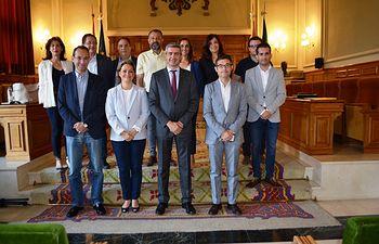 Equipo de Gobierno de la Diputación de Toledo.
