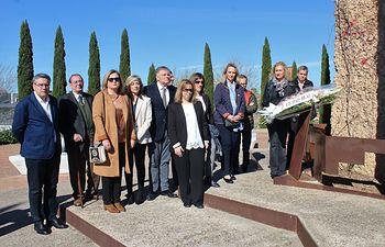El Partido Popular de Ciudad Real rinde homenaje a las Víctimas del Terrorismo en el 16 aniversario de los atentados de Atocha.