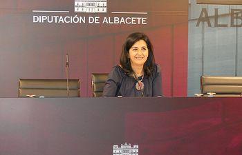 Francis Rubio, diputada provincial de Ciudadanos Albacete.