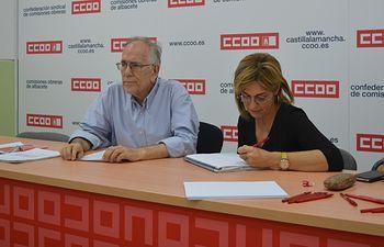 Luis Collado García en la jornada sobre novedades legislativas en el ámbito laboral.