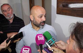 El vicepresidente segundo del Gobierno regional, José García Molina. (Foto: Álvaro Ruiz // JCCM)