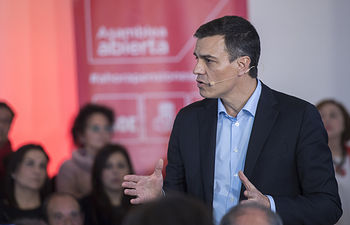 Pedro Sánchez, secretario general.